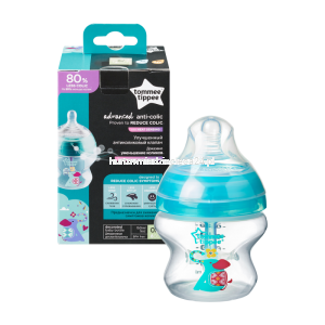 Tommee Tippee Butelka antykolkowa ADVANCED dekorowana 150 ml