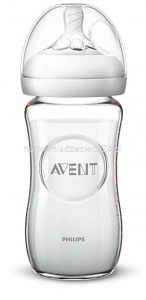 Avent Butelka szklana Natural 2.0 240 ml  SCF053/17